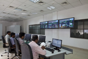 Control Panel of sugarcane Factory